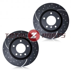 EBC GD Dimpled/Slotted REAR Brake Rotors for 350Z, G35 (w/Brembo)