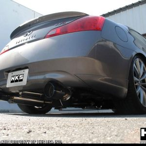 HKS 32009-BN003 Dual Catback Exhaust, for 08-13 Infiniti G37 Coupe