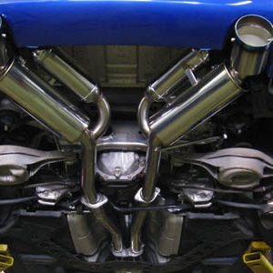 HKS 32009-BN001 Dual Catback Exhaust, for 03-07 Nissan 350Z