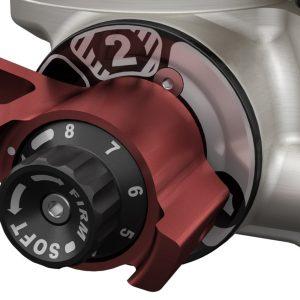 "Teraflex Falcon Series 3.3 Piggyback Shock Absorbers, 4-6"" Lift"