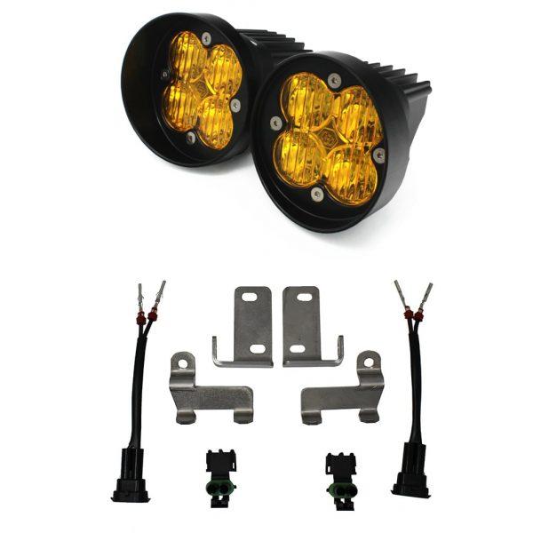 Baja Designs® 447115 Amber LED Fog Lights Toyota