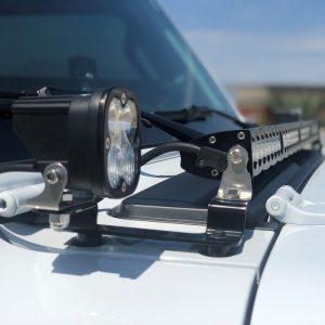 "Baja Designs® Squadron Sport™ & S8™ 40"" Driving/Combo Cowl Mount Jeep JL"