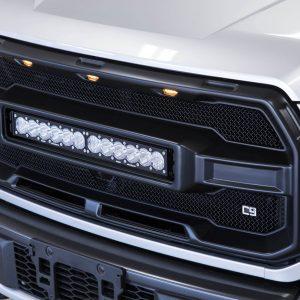 Baja Designs CALIBER 9 LED OnX6+ Grille Kit 17-20 Raptor