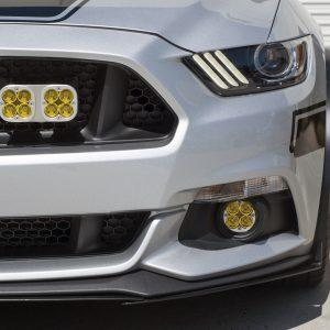 Baja Designs® Amber Rally Fog Light Kit, Ford/Subaru