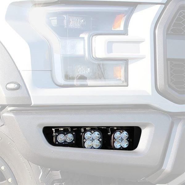 Baja Designs® 17-20 Ford Raptor LED Fog Light Kit