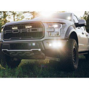Rigid Industries® 2017+ Ford Raptor Triple Fog Light Kit