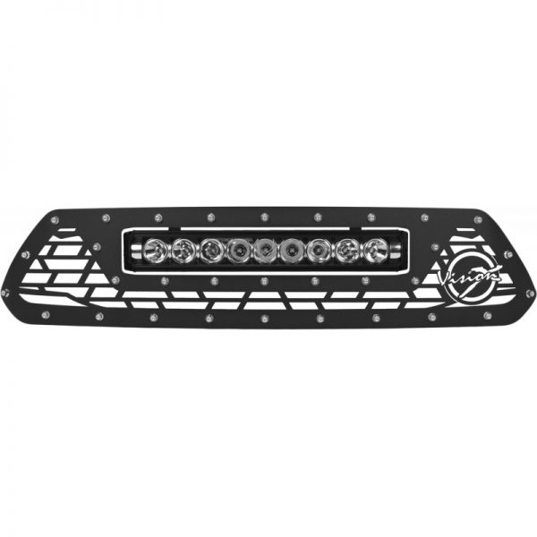 Vision X Light Bar Grille w/LED Light Bar (XPR-9M), 12-15 Tacoma