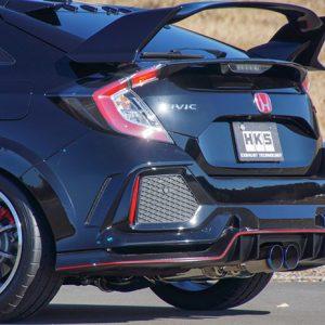 HKS Legamax Premium Exhaust, Honda Civic Type R 17+