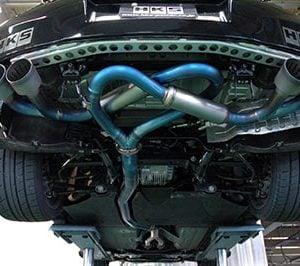 HKS Titanium Superior specR Exhaust, Nissan GT-R R35