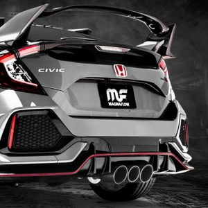 Magnaflow Competition Triple Catback Exhaust, 2017+ Civic Type R