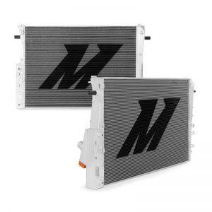 MISHIMOTO Aluminum Radiator, 08-10 Ford 6.4L Powerstroke