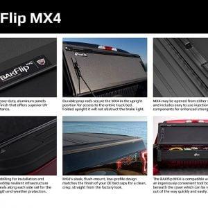 BAK BakFlip MX4 Hard Folding Tonneau Bed Cover 15-20 F150 5.5 FT