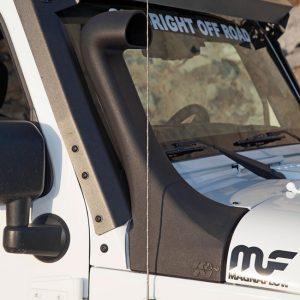 K&N Snorkel Cold Air Intake, 12-18 Jeep Wrangler JK