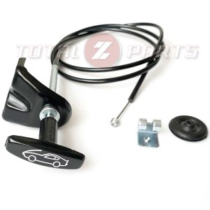 Datsun 240Z 260Z Reproduction Hood Latch Release Cable Assembly, 70-74