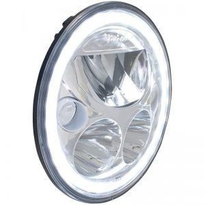 "XMC 7"" Round LED Motorcycle Headlight, Vision X®"