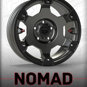 Nomad Off-Road 5x5 Wheel, 07+ Jeep Wrangler