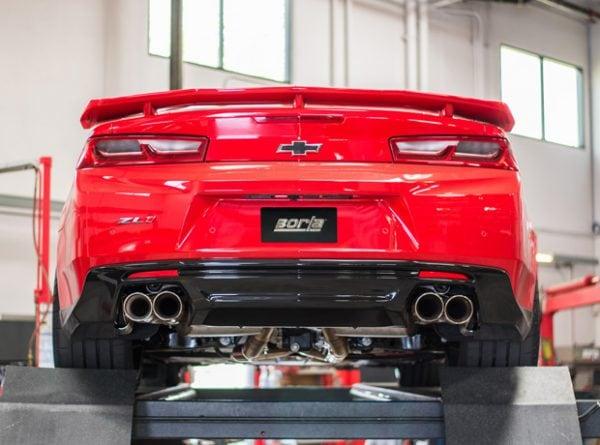 BORLA Cat-Back ATAK Exhaust, 17-19 Camaro ZL1