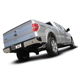 BORLA Catback Touring Side Exit Exhaust, 11-14 Ford F150 V8