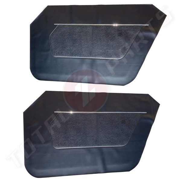 Datsun 240Z Interior Door Panel Vinyl Covers / Skins, Reproduction