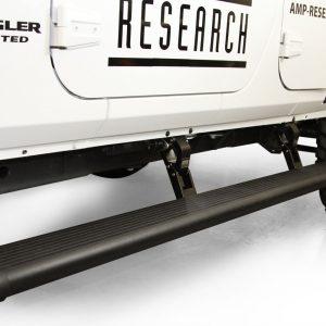 AMP PowerStep Electric Running Boards for 18-19 Jeep Wrangler JL, 4-Door