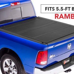 BAKFlip MX4 Folding Tonneau Cover, 2019 RAM 1500 5.5 ft Bed w/RamBox