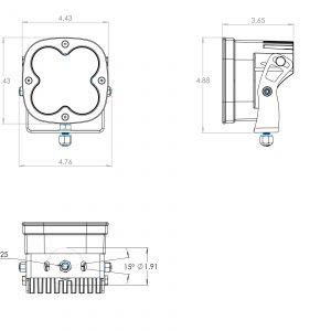 Baja Designs® XL Sport™ LED Lights Pair Driving/Combo