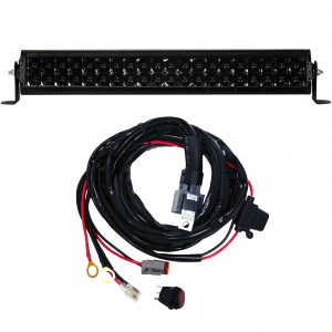 Rigid Industries® E-Series Pro 20-inch Spot Midnight LED Light Bar with Harness