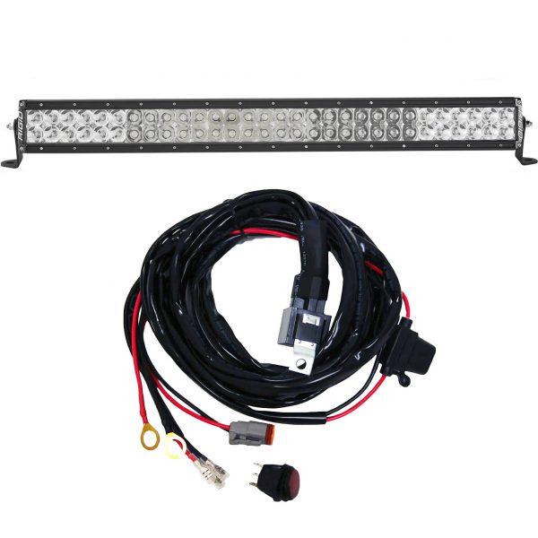 Rigid Industries® E-Series Pro 30-inch Spot/Flood Combo LED Light Bar w/Harness