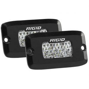 RIGID SR-M PRO Flood Diffused LED Backup Light Kit, Flush Mount