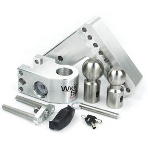"Weigh Safe 6"" Drop Hitch, 3"" Shank, w/Key Lock & Hitch Pin"
