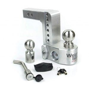 "Weigh Safe 6"" Drop Hitch, 2"" Shank, w/Key Lock & Hitch Pin"