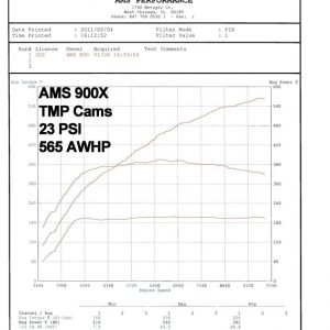AMS Performance TMP Camshafts, Mitsubishi Lancer EVO X