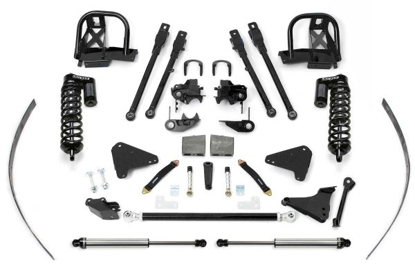 """Fabtech® 8"""" Suspension System, 4 Link, 00-04 F250 F350 4WD"""