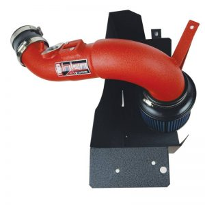 Short Ram Cold Air Intake (Red), Injen, 17-19 Civic Type R
