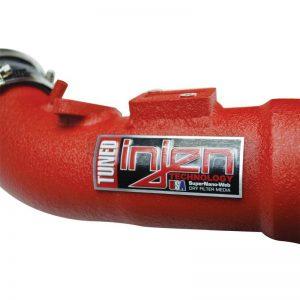 Short Ram Cold Air Intake (Red), Injen, 17-19 Civic Type R