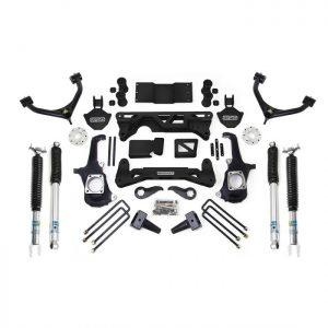 "ReadyLift® 7-8"" Lift Kit w/ Bilstein Shocks, 11-19 2500HD/3500HD"