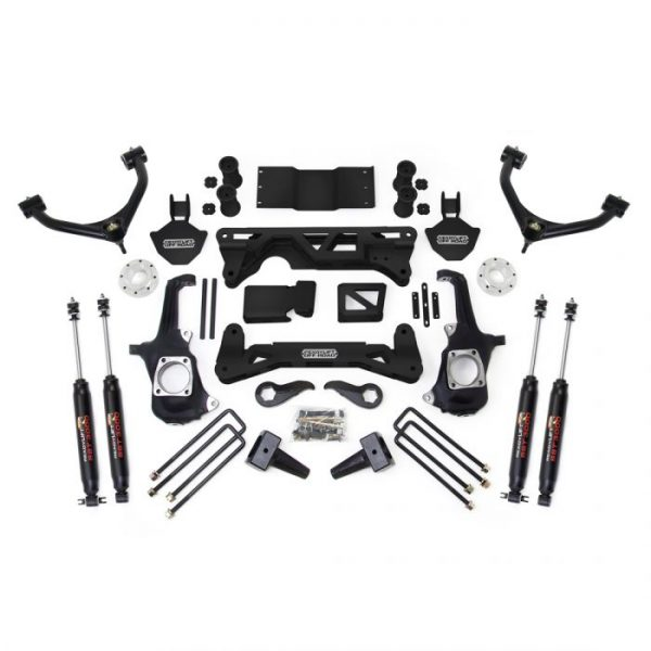 """ReadyLift® 7-8"""" Lift Kit w/ SST3000 Shocks, 11-19 2500HD/3500HD"""