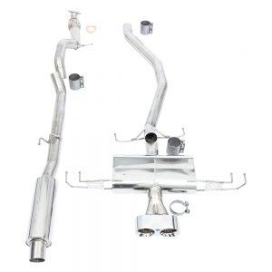 "Thermal R&D 3"" Catback Exhaust B183-C183, 2016+ Civic Sport"