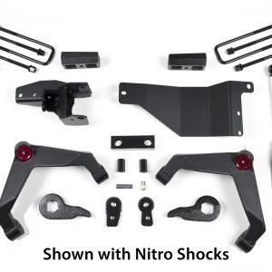 "Zone Offroad® 3"" Lift Kit, 01-10 Chevy/GMC 2500HD/3500HD"