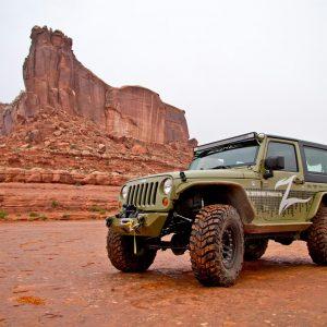 "Zone Offroad® 4"" Lift Kit, 07-18 Jeep Wrangler JK"