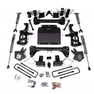 "Zone Offroad® 5"" Lift Kit, FOX Shocks, 2020 Chevy/GMC 2500/3500 4WD"
