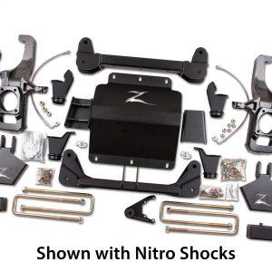 """Zone Offroad® 5"""" Lift Kit, 11-19 Silverado/Sierra 2500HD/3500HD"""