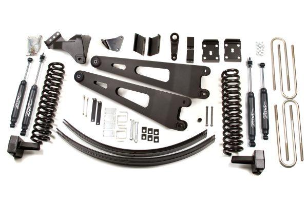 """Zone Offroad® 6"""" Lift Kit, 08-10 F250/F350 Diesel"""