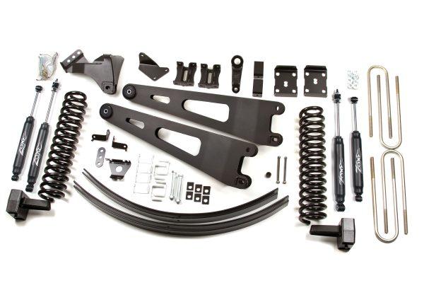 """Zone Offroad® 6"""" Lift Kit, 11-16 F250/F350 Diesel"""