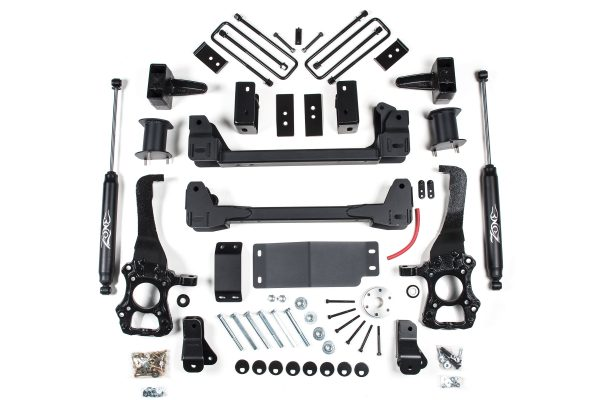 """Zone Offroad® 6"""" Suspension Lift Kit, 15-20 F150 4WD"""