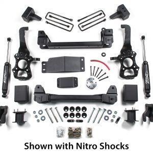 "Zone Offroad® 4"" Suspension Lift Kit, 15-20 F150 4WD"