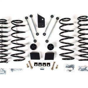 """Zone Offroad® 3"""" Lift Kit, 18-20 Jeep Wrangler 4 Door"""