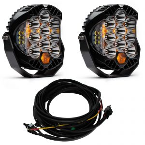 Baja Designs® LP9™ Pair LED Racer Edition Spot Lights & Harness Kit