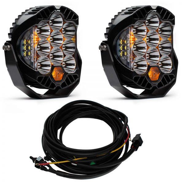 Baja Designs® LP9™ Pair LED Racer Edition Spot Lights & Harness Kit