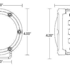 Rigid Industries® 360-Series Round LED Lights